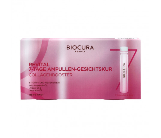 Biocura Beauty REVITAL kolageno ampulės