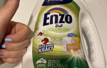 Deluxe Enzo 2in1 Color skalbimo gelis spalvotiems rūbams