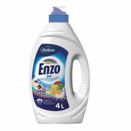 Deluxe Enzo 2in1 Universal skalbimo gelis spalvotiems ir baltiems rūbams  4l/100sk.