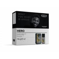 STR 8 rinkinys: dušo želė vyrams STR8 HERO 250 ml + purškiamas dezodorantas 150 ml